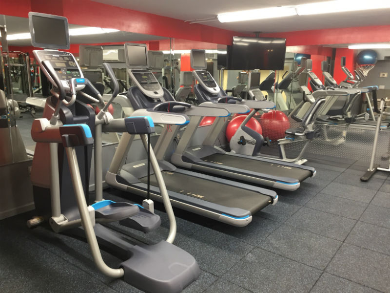 The Mana Kai's Fitness Center Cardio Equipment