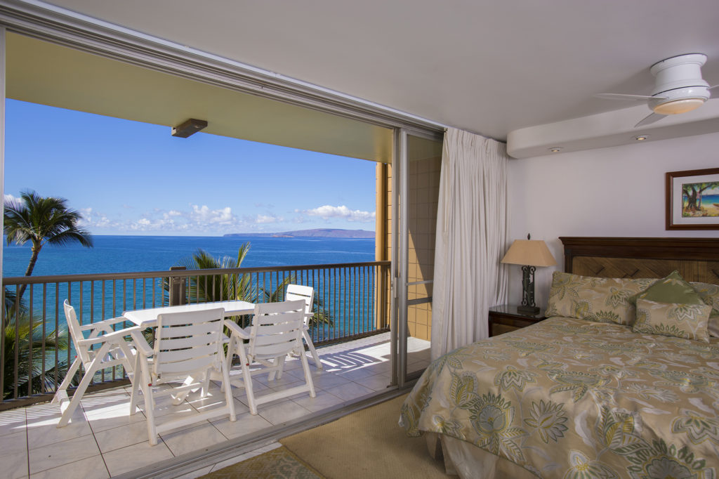 Master Bedroom also has Direct Ocean View